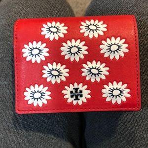 Tory Burch Primrose foldable mini wallet